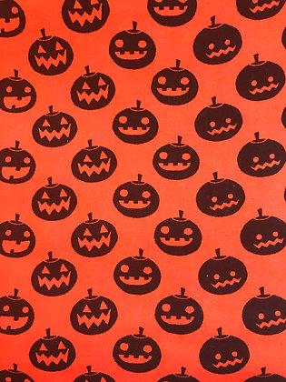 Pumpkins on Orange