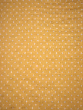 Yellow Small Polka Dots