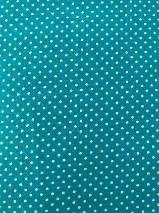 Teal Small Polka Dots