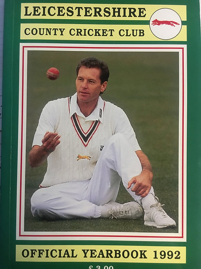 Leicestershire County Cricket Club Official Yearbook 1992