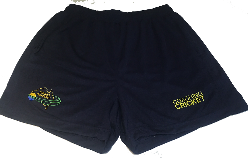 Coaching Cricket Training Shorts - Blue