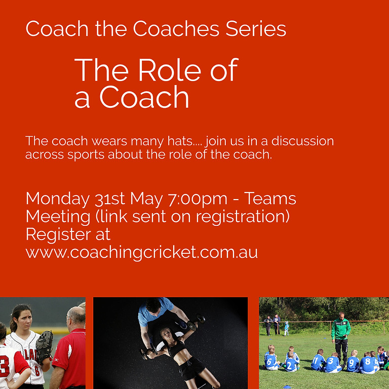 Coaching Philosophy - The Role of the Coach