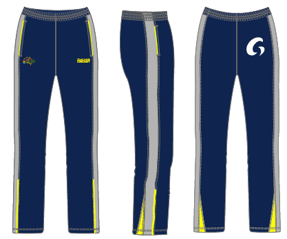 Coaching Cricket Track Pants - Blue