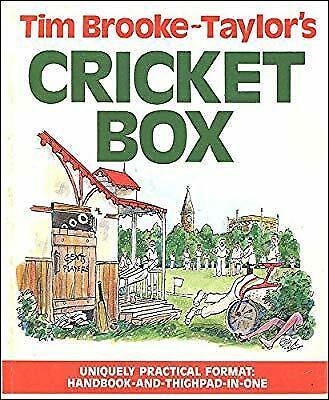 Tim Brooke-Taylor's Cricket Box