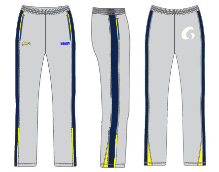 Coaching Cricket Track Pants -Grey