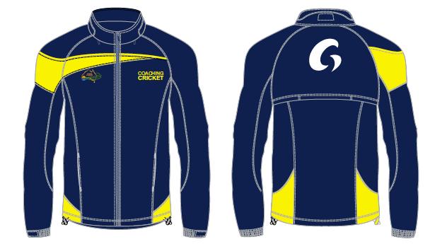 Coaching Cricket Spray Jackets -Blue