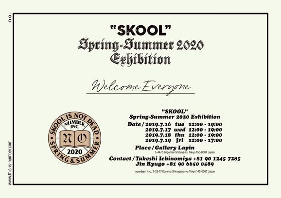 2020 Spring-Summer Exhibition