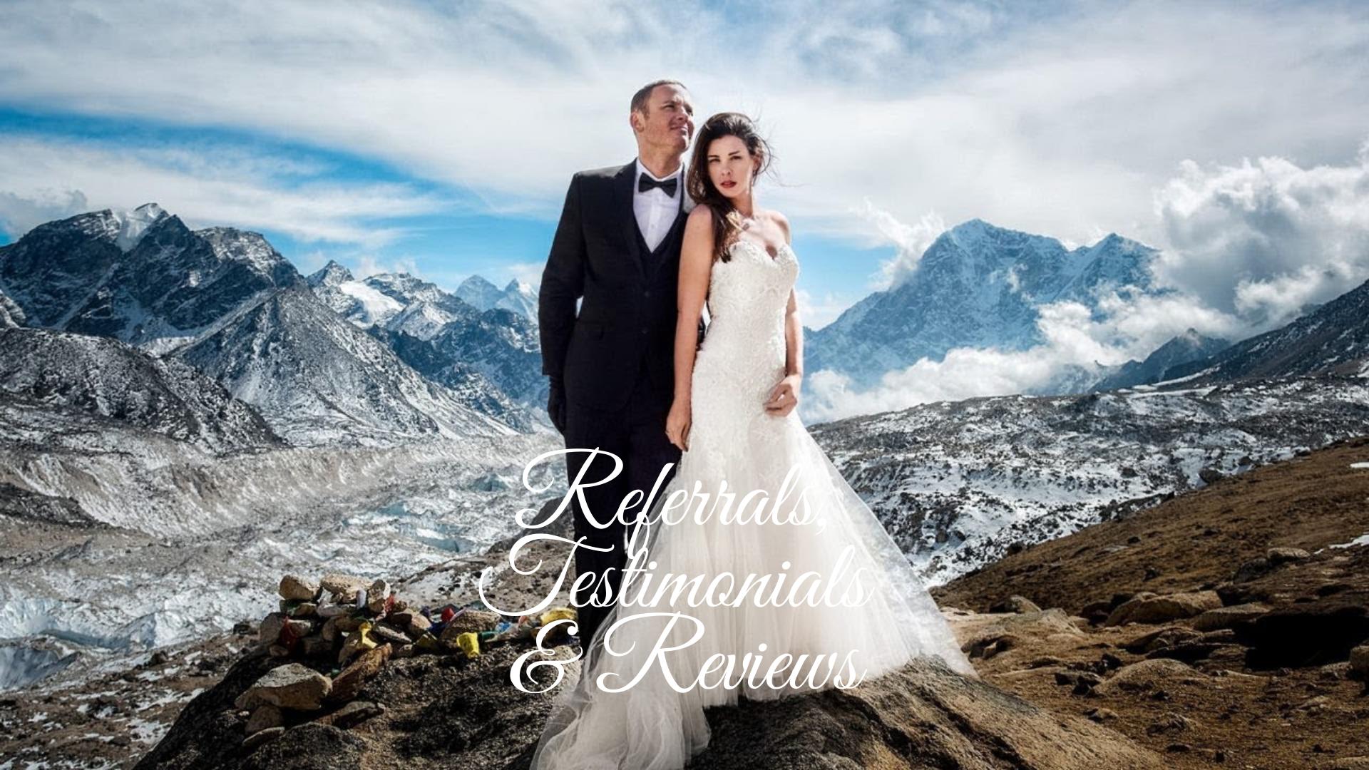 Referrals, Testimonials & Reviews