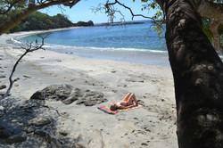 Relaxing at Venus Beach