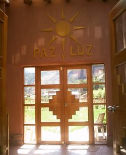 Entrance @ PAZ y LUZ