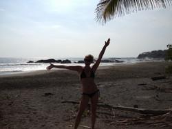 Hanging at Beach
