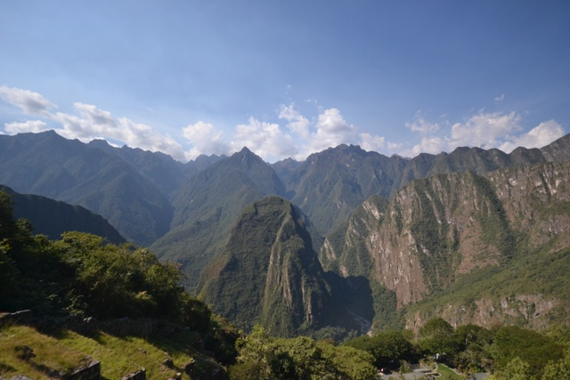 The Andes Mountains!