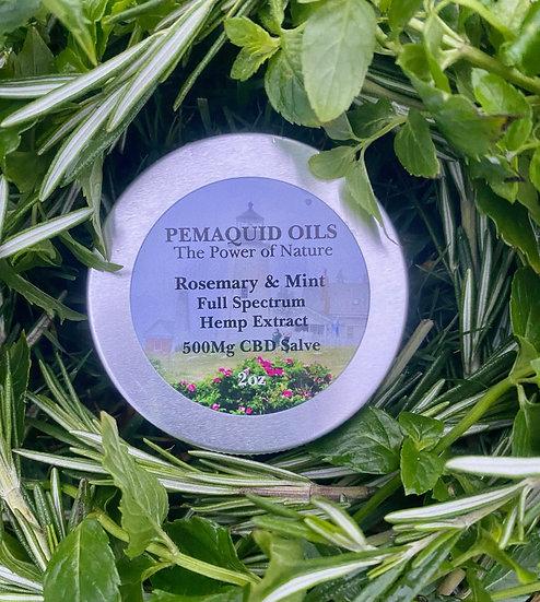 Rosemary & Mint Full Spectrum Hemp Extract Salve (500mg)