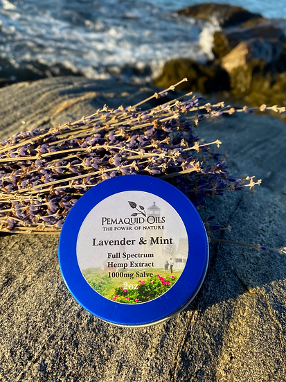 Lavender & Mint Hemp Extract Salve (1000mg)