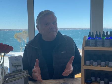 Golf player, Dave, loves Pemaquid Oils Hemp Extract Salves!