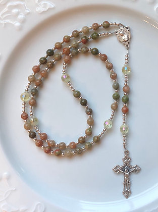 Autumn Jasper Rosary