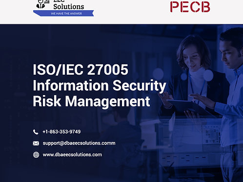 ISO/IEC Lead Risk Manager - 4 DAY Course