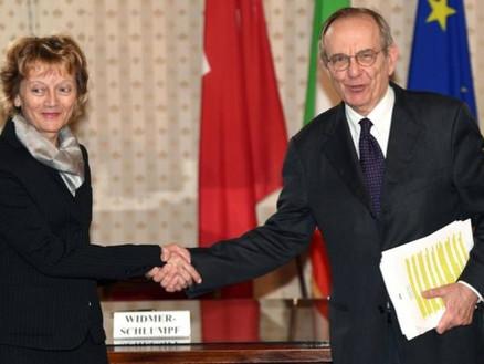 Fisco: Italia e Svizzera firmano l'accordo sullo scambio d'informazioni. Fine del segreto ba