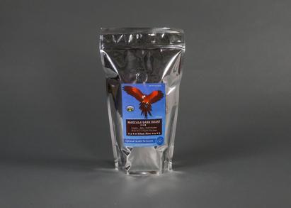 Marcala Dark Roast Coffee Label