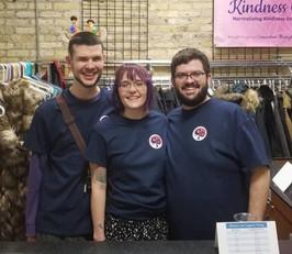 Founding Members wearing custom CTC t-shirts