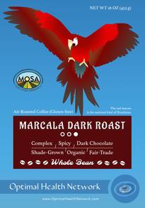 Marcala Coffee Label