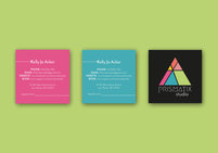 Prismatix business card