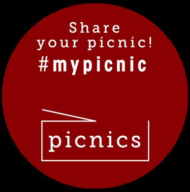 Picnics Sticker Design