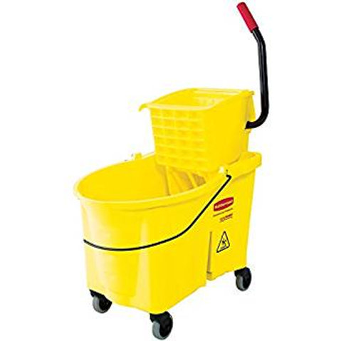 36 Qt. Lavex Janitorial Mop Bucket & Side Press Wringer Combo