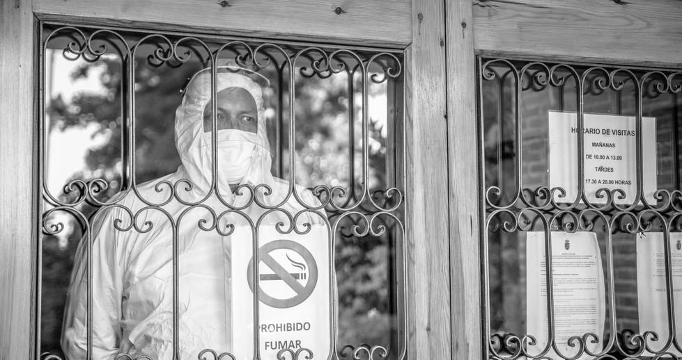 Desinfección de las viviendas tuteladas.