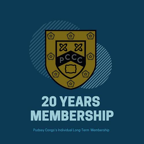 20 Year Membership