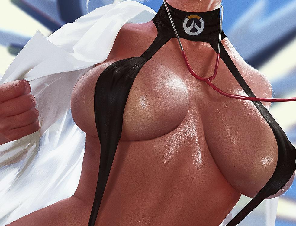 Mercy - Overwatch (Futa+ Nude Combo)