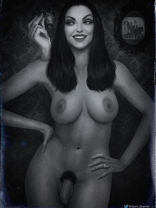 Morticia Addams (Futa + Nude )