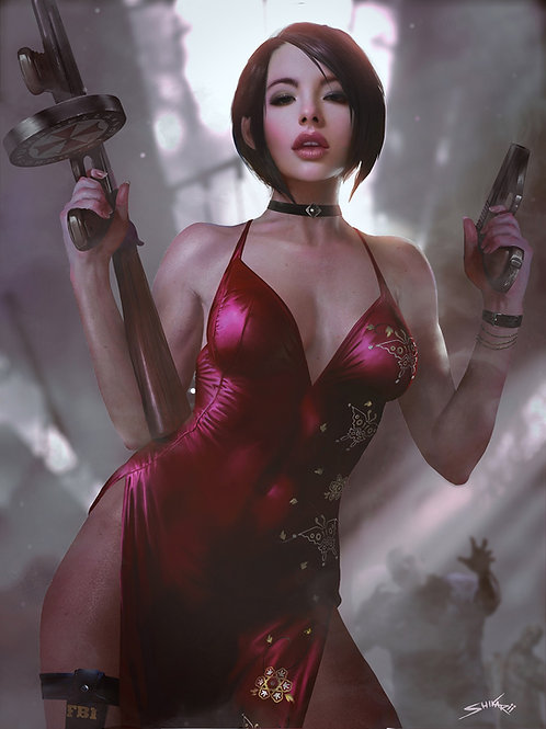Ada Wong - Resident Evil (Nude Only)