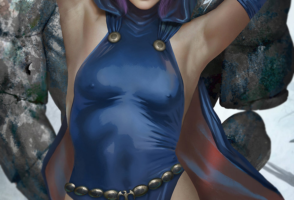 Raven - Dc Comics (Nude + Futa)