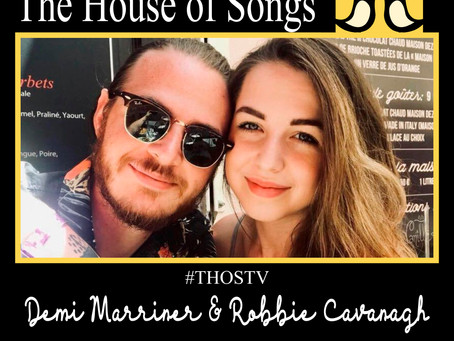 At Home with The House of Songs: Demi Marrnier & Robbie Cavanagh