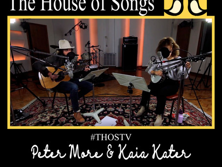 "At Home with The House of Songs: ""No One Home"" with Peter More & Kaia Kater"