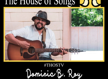 At Home with The House of Songs: Dominic B Roy
