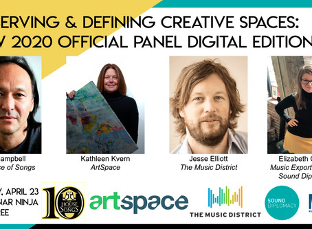 Preserving & Defining Creative Spaces: Digital Panel on Thursday, April 23