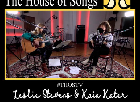 "At Home with The House of Songs: ""Free State"" by Kaia Kater & Leslie Stevens"