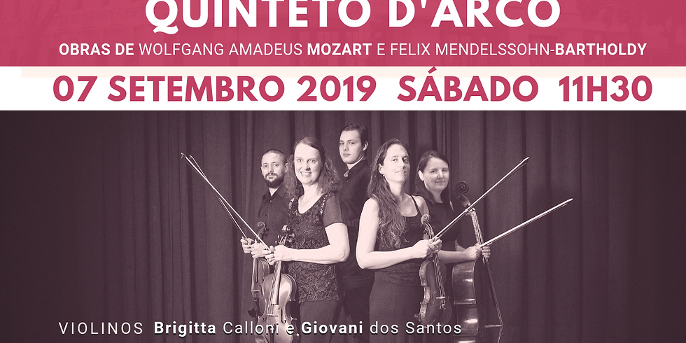 Concertos Capitólio - Quinteto D'Arco
