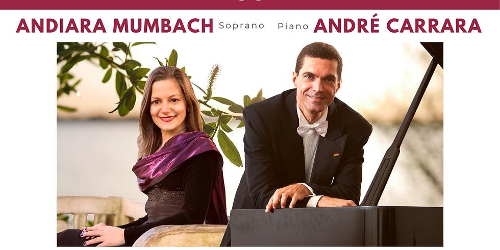 Recital de Canto e Piano com Andiara Mumbach e André Carrara