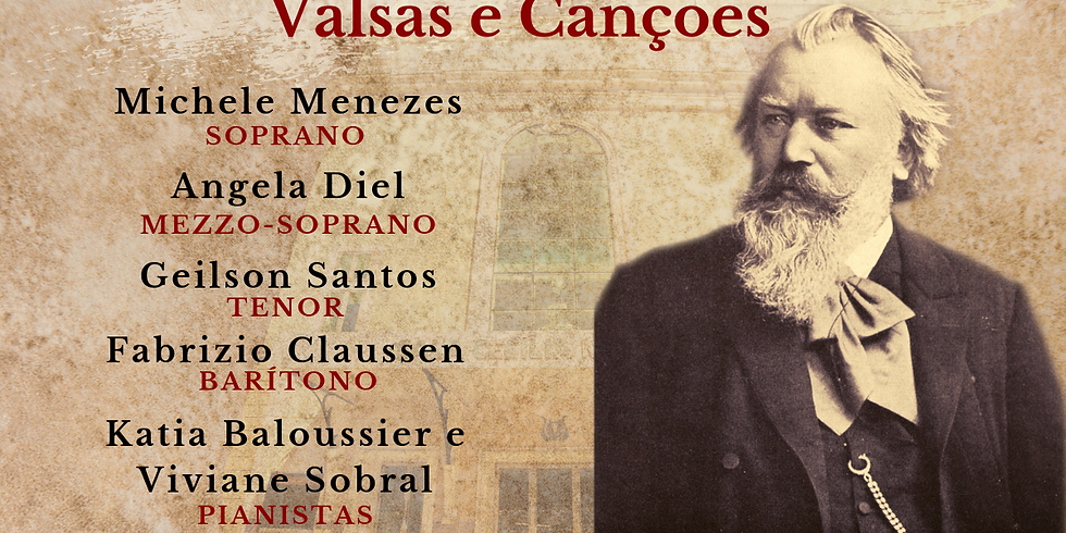 Espetáculo Valsas e Canções - J. Brahms