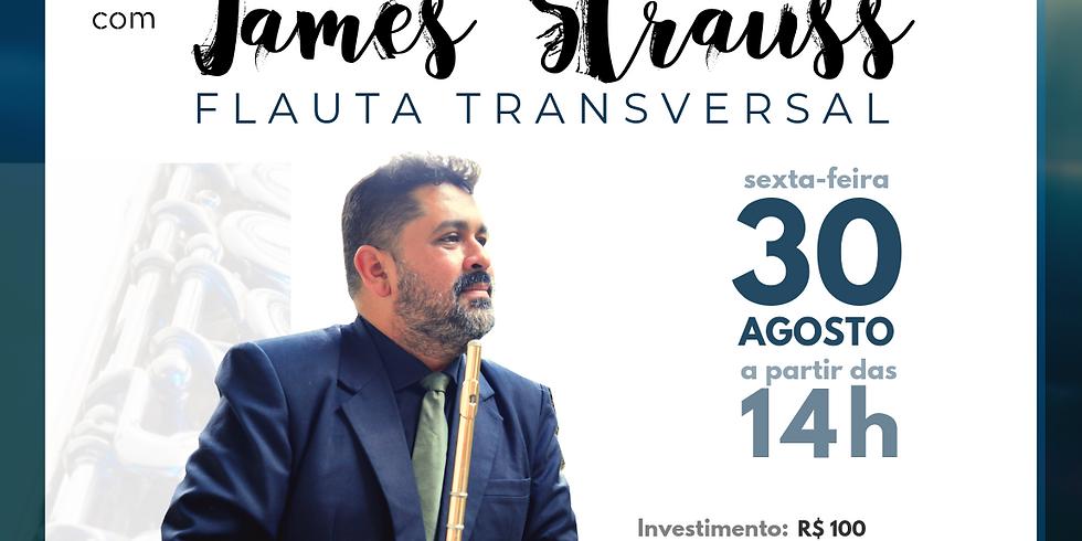 James Straus - Workshop Flauta Transversal - 30/08