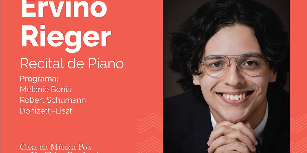 Casa da Música recebe Ervino Rieger para Recital de Piano