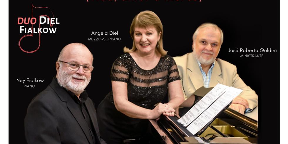 Recital Espírito do Tempo - Música, Literatura e Bioética