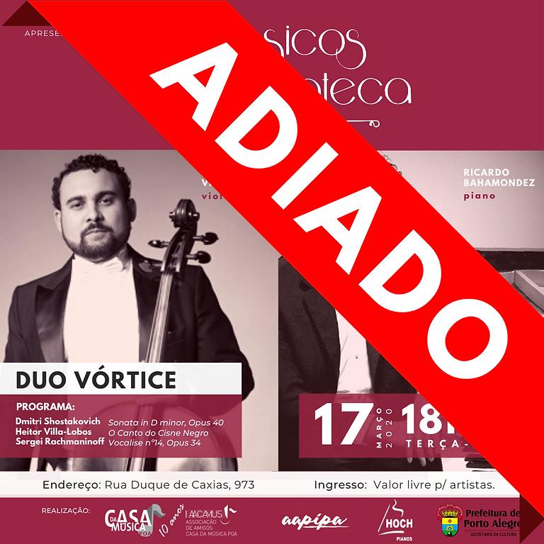 ADIADO  |   Duo Vórtice: Tácio César Vieira e Ricardo Bahamondez