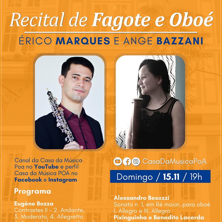 Recital de Fagote e Oboé