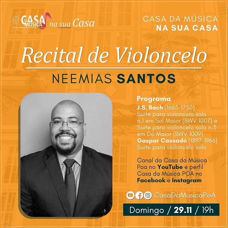 Recital de Violoncelo com Neemias Santos