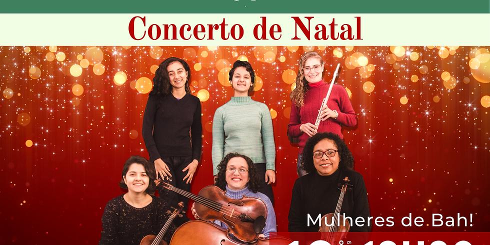 Concerto de Natal na Pinacoteca Ruben Berta