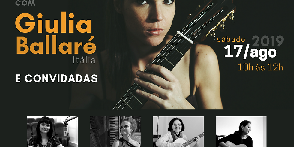 Conversa com a violonista - mesa redonda com Giulia Ballaré e convidadas